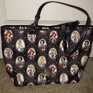 Dooney and bourke princess tote
